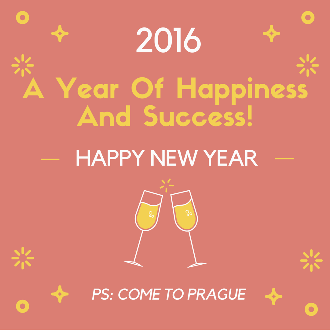 A lot of success in the new year 2016