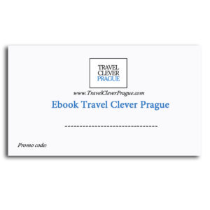 Gift card for ebook Travel Clever Prague - Save up to 50% of your cost ( Back side )