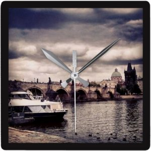 Travel Clever Prague - wall clock charles bridge