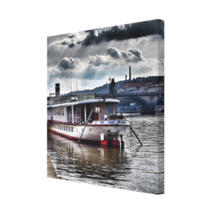 Souvenirs from Prague Boat on the river in Prague photo 1